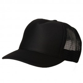 Summer Foam Mesh Trucker Cap - Black