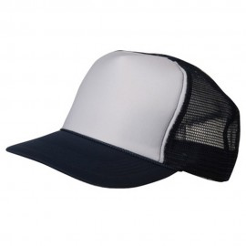 Summer Foam Mesh Trucker Cap - Navy White