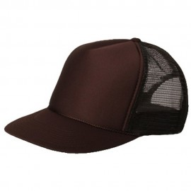 Summer Foam Mesh Trucker Cap - Chocolate