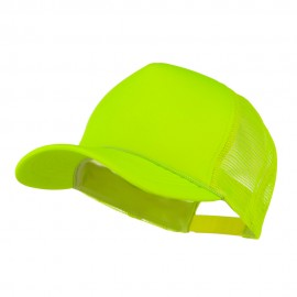 Summer Foam Mesh Trucker Cap - Neon Yellow