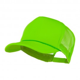 Summer Foam Mesh Trucker Cap - Neon Green