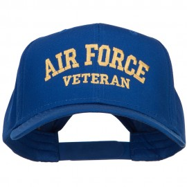 Air Force Veteran Letters Embroidered Cotton Cap
