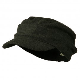 Folded Plain Army Cap