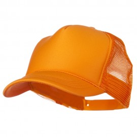 Youth Polyester Foam Golf Mesh Cap - Gold