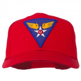 12th Air Force Division Patched Cap