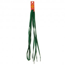 Flat Shoe Laces 54 inches - Kelly Green