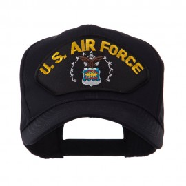 US Air Force Fan Shape Large Patch Cap