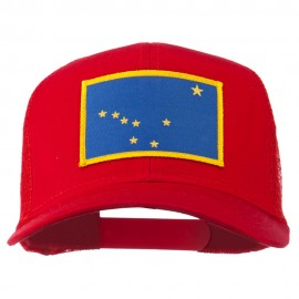 Alaska State Flag Patched Mesh Cap