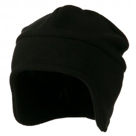 Fleece Togue Hat - Black