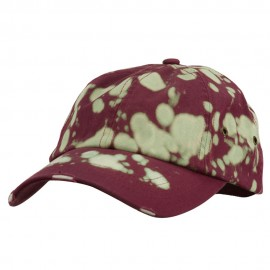 Frayed Tie Dye Cotton Twill Cap