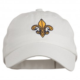 Fleur De Lis Embroidered Pet Spun Cap