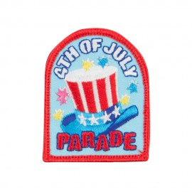 4th of July Parade Patches