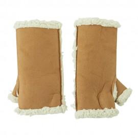 Woman's Faux Shearling Arm Warmer