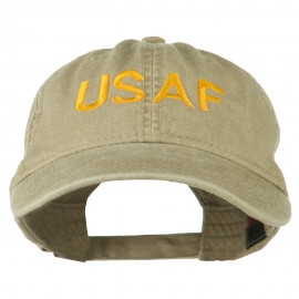 USAF Embroidered Military Washed Cap