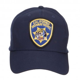 California Highway Patrol Patched Cap - Navy