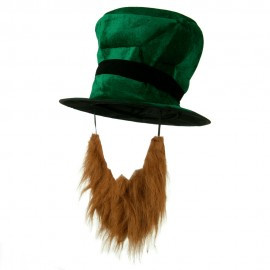 Green Top Hat with Beard