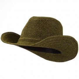 Polyester Glitter Cowboy Hat