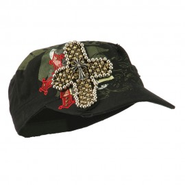 Gothic Cross Military Cap