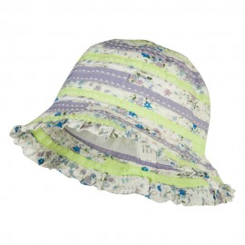 Girl's Flower Pattern Bucket Hat
