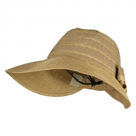 Women's Ribbon Braid Gardening Visor