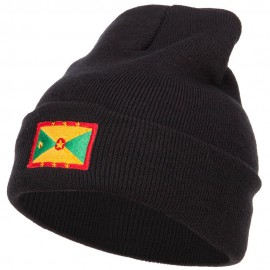 Greada Flag Embroidered Long Beanie
