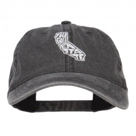 California Golden State Embroidered Cap