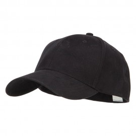 Big Size Stretchable Deluxe Fitted Cap - Black