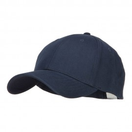 Big Size Stretchable Deluxe Fitted Cap - Navy