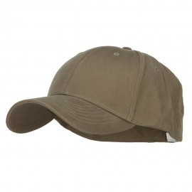 Big Size Stretchable Deluxe Fitted Cap - Olive