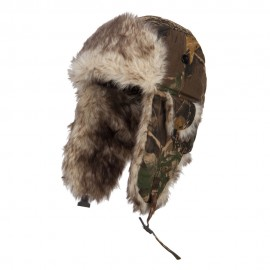 Camouflage Fur Trooper Hat