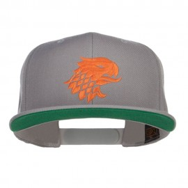 Griffin Head Embroidered Snapback Cap