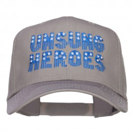 Unsung Heroes Embroidered High Profile Cap