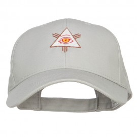 All Seeing Eye Embroidered Big Cotton Cap