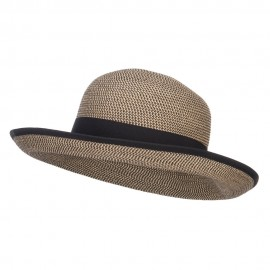 UPF 50+ Grosgrain Band Roll Up Hat