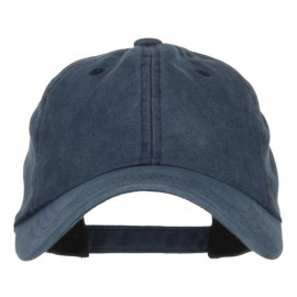 Unstructured Pigment Dyed Cotton Cap - Navy