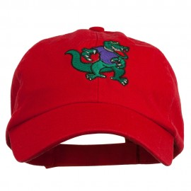 Gators Mascot Embroidered Low Profile Washed Cap