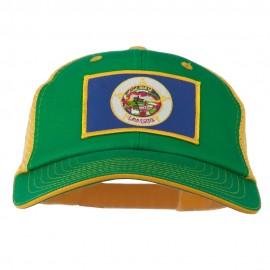 Big Mesh State Minnesota Patch Cap
