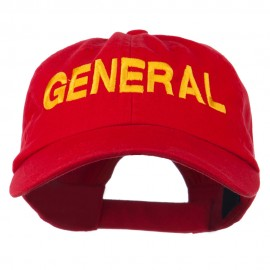 US GENERAL Embroidered Low Profile Washed Cap