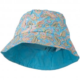 Girl's Paisley Print Bucket Hat
