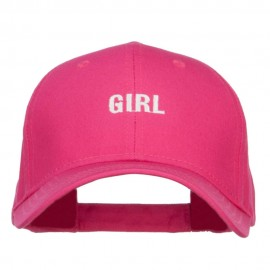 Mini Girl Embroidered Cotton Cap