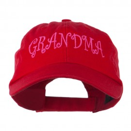 Grandma Embroidered Cap