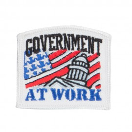 USA Government Embroidered Patch