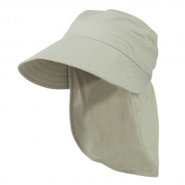 Gardening Visor Hat with Neck Cover