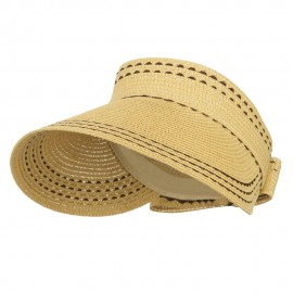 Ribbon Roll Up Gardening Visor