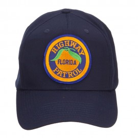 Florida State Highway Patrol Patched Cap