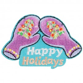 Happy Holiday Patch