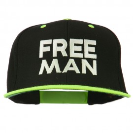 Halloween Freeman Embroidered Snapback Cap