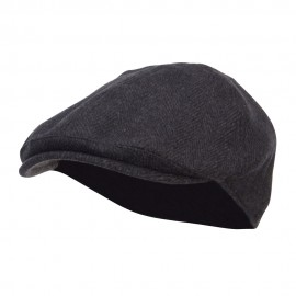 Men's Herringbone Wool Ivy Cap