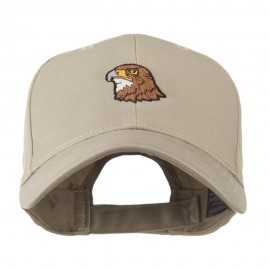 Hawk Head Mascot Embroidered Cap