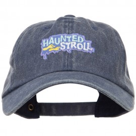 Halloween Haunted Stroll Patched Unstructured Cap